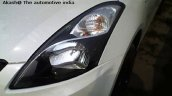 2015 Maruti Dzire (Facelift) white headlamp dealership yard