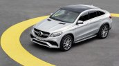 2015 Mercedes AMG GLE63 S Coupe front