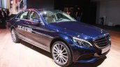 2015 Mercedes C Class C350 Plug-in Hybrid front quarter at the 2015 Detroit Auto Show