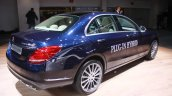 2015 Mercedes C Class C350 Plug-in Hybrid rear quarters at the 2015 Detroit Auto Show