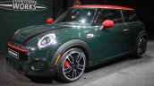 2015 Mini John Cooper Works front quarter at the 2015 Detroit Auto Show