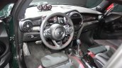 2015 Mini John Cooper Works interior at the 2015 Detroit Auto Show