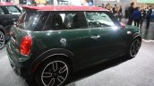 2015 Mini John Cooper Works rear quarter at the 2015 Detroit Auto Show