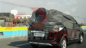 2015 Renault Lodgy rear three quarter spied