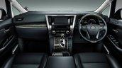 2015 Toyota Vellfire interior dashboard Japan