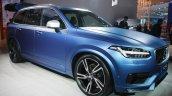 2015 Volvo XC90 R-Design front quarter at the 2015 Detroit Auto Show