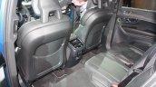 2015 Volvo XC90 R-Design rear seat at the 2015 Detroit Auto Show