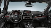 2016 BMW 1 Series facelift interior