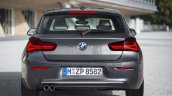 2016 BMW 1 Series facelift rear