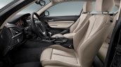 2016 BMW 1 Series facelift seats
