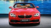 2016 BMW 6 Series Convertible Facelift at the 2015 Detroit Auto Show
