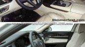 2016 BMW 7 series vs 2013 BMW 7 series interior