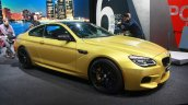 2016 BMW M6 Facelift front quarter at the 2015 Detroit Auto Show