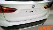 2016 BMW X1 bootlid spied
