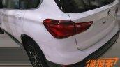 2016 BMW X1 taillight spied