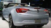 2016 Buick Cascada rear three quarters at the 2015 Detroit Auto Show