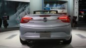 2016 Buick Cascada rear view at the 2015 Detroit Auto Show