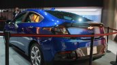 2016 Chevrolet Volt rear three quarter at the 2015 Detroit Auto Show