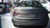 2016 Hyundai Sonata Plug in Hybrid rear at the 2015 Detroit Auto Show