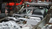 2016 Nissan Titan XD chassis cross member at the 2015 Detroit Auto Show
