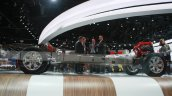 2016 Nissan Titan XD chassis side view at the 2015 Detroit Auto Show