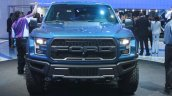 2017 Ford F-150 Raptor front at the 2015 Detroit Auto Show