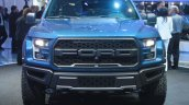 2017 Ford F-150 Raptor grille at the 2015 Detroit Auto Show