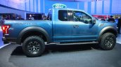 2017 Ford F-150 Raptor side at the 2015 Detroit Auto Show