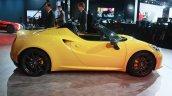 Alfa Romeo 4C Spider at the 2015 Detroit Auto Show side
