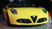 Alfa Romeo 4C Spider at the 2015 Detroit Auto Show