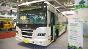 Ashok Leyland FESLF CNG front quarter at the Bus and Special Vehicles Show 2015