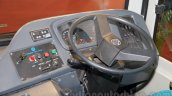 Ashok Leyland FESLF CNG steering at the Bus and Special Vehicles Show 2015