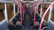 Ashok Leyland Optare Versa EV seats at the Bus and Special Vehicles Show 2015