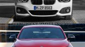 BMW 1 series facelift vs 1 series front old vs new