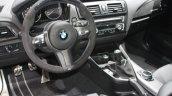 BMW M235i interior at the 2015 Detroit Auto Show