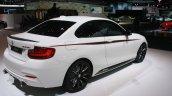BMW M235i rear three quarters at the 2015 Detroit Auto Show