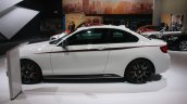 BMW M235i side at the 2015 Detroit Auto Show