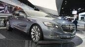 Buick Avenir Concept front three quarter at the 2015 Detroit Auto Show