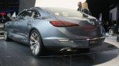 Buick Avenir Concept rear three quarter at the 2015 Detroit Auto Show