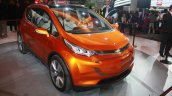 Chevrolet Bolt EV Concept front three quarters at the 2015 Detroit Auto Show