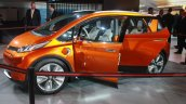 Chevrolet Bolt EV Concept front three quarters right at the 2015 Detroit Auto Show