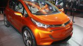 Chevrolet Bolt EV Concept front three quarters view at the 2015 Detroit Auto Show