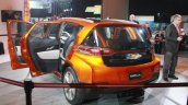 Chevrolet Bolt EV Concept rear three quarters left at the 2015 Detroit Auto Show