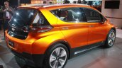 Chevrolet Bolt EV Concept rear three quarters zoom in at the 2015 Detroit Auto Show