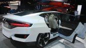 Honda FCV Concept rear three quarter at the 2015 Detroit Auto Show