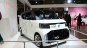 Honda N-Box Slash Cyber Concept front quarter at the 2015 Tokyo Auto Salon