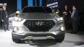 Hyundai Santa Cruz Crossover Concept front at the 2015 Detroit Auto Show