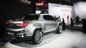 Hyundai Santa Cruz Crossover Concept rear quarter at the 2015 Detroit Auto Show