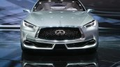Infiniti Q60 Concept front at the 2015 Detroit Auto Show