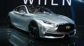 Infiniti Q60 Concept front three quarter at the 2015 Detroit Auto Show